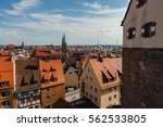view of nuremberg from the... | Shutterstock . vector #562533805
