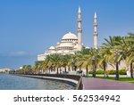 sharjah united arab emirates  ... | Shutterstock . vector #562534942