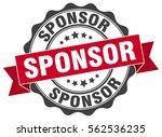 sponsor. stamp. sticker. seal....   Shutterstock .eps vector #562536235