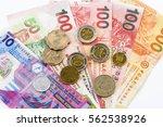 Hong Kong Banknotes Isolated O...