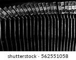 Closeup Of Old Typewriter...