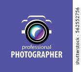 logo camera the photographer | Shutterstock .eps vector #562552756