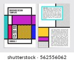 business brochure flayer deisgn ... | Shutterstock .eps vector #562556062