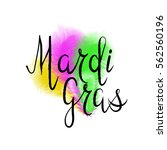 Lettering Mardi Gras With...
