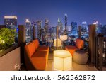 bangkok city view point from... | Shutterstock . vector #562562872