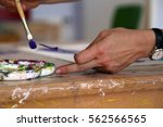 paint palette | Shutterstock . vector #562566565