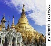 chawedagong pagoda | Shutterstock . vector #562584022