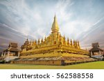 Pha That Luang Is A Gold...