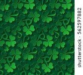 floral seamless pattern. saint...   Shutterstock .eps vector #562597882