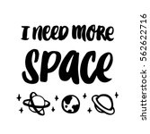i need more space. the quote... | Shutterstock .eps vector #562622716