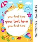 travel card | Shutterstock .eps vector #56263315