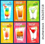set of cocktail | Shutterstock .eps vector #562635118