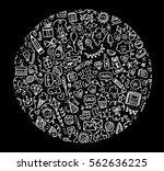 doodle    Shutterstock . vector #562636225
