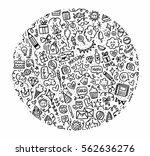 doodle  | Shutterstock . vector #562636276