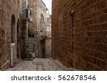 stone old city jaffa in tel aviv | Shutterstock . vector #562678546