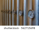 Thermometers In Pipes Of A...