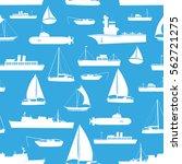 various transportation navy...   Shutterstock .eps vector #562721275