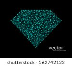 abstract vector illustration of ... | Shutterstock .eps vector #562742122