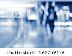 abstract modern shopping mall... | Shutterstock . vector #562759126