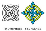 celtic quaternary knot  vector...   Shutterstock .eps vector #562766488