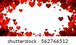 love valentine's background... | Shutterstock .eps vector #562766512