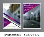 business template for brochure  ... | Shutterstock .eps vector #562794472