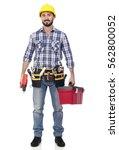 handyman   Shutterstock . vector #562800052