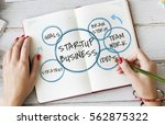 start up business venture goals | Shutterstock . vector #562875322