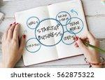 start up business venture goals | Shutterstock . vector #562875322