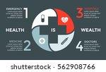 vector plus infographic ... | Shutterstock .eps vector #562908766