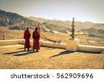 thiksey  ladakh   circa... | Shutterstock . vector #562909696