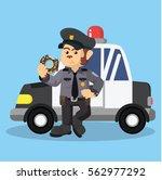 monkey police eating donut...