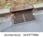 Metal Storm Drain With Water...