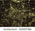 golden glossy texture. distress ...   Shutterstock .eps vector #563007586
