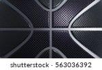 leather basketball background.... | Shutterstock . vector #563036392