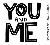 "vector handlettering ""you and... 