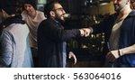fist bump friends deal partner...   Shutterstock . vector #563064016