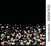 dark horizontal design with...   Shutterstock . vector #563067622