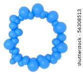 balloons frame | Shutterstock . vector #56308513