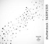 modern vector design with... | Shutterstock .eps vector #563091505