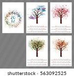 a scalable vector calendar for... | Shutterstock .eps vector #563092525