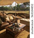 luxury safari | Shutterstock . vector #563104852