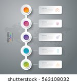 timeline infographic design... | Shutterstock .eps vector #563108032