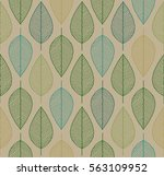 vector seamless background with ... | Shutterstock .eps vector #563109952