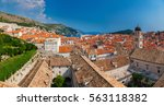 beautiful panoramic view of the ... | Shutterstock . vector #563118382