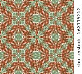 color engraving pattern. the... | Shutterstock .eps vector #563119252