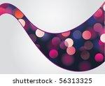 magic night   glittering bokeh... | Shutterstock .eps vector #56313325