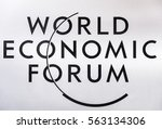 davos  switzerland   jan 18 ... | Shutterstock . vector #563134306