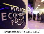 davos  switzerland   jan 19 ... | Shutterstock . vector #563134312