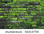 Texture Of Old Stone Wall...